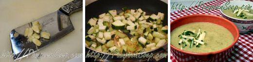 Easy zucchini soup