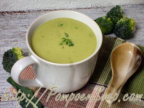 Bloemkool broccolisoep