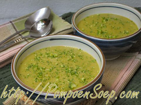 Broccoli Courgettesoep