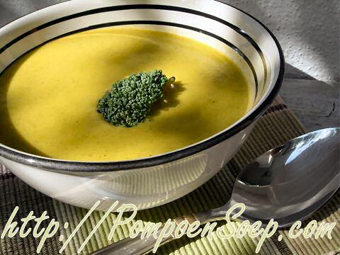 Broccoli wortel soep
