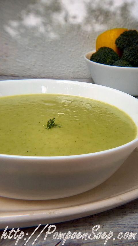Broccolisoep met prei