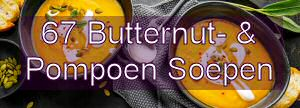 52+ Butternutsoep en Pompoensoep Recepten