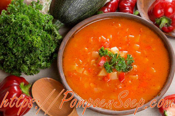 Courgettesoep met tomaten Jeroen Meus
