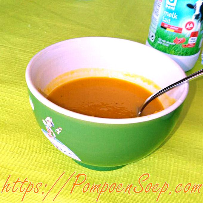 Makkelijke soepmaker pompoensoep