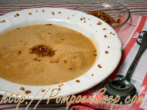 Paprika courgettesoep