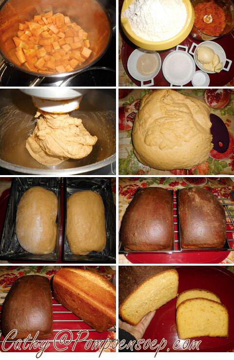 Pompoenbrood maken