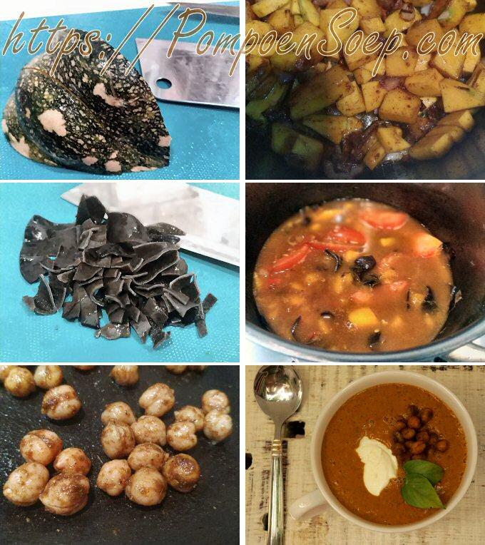 Stap voor stap pompoensoep maken volgens recept van Sandra Bekkari