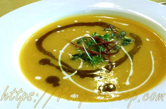 Nieuw pompoensoep recept van Sandra Bekkari