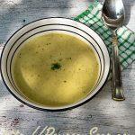Gezonde broccolisoep