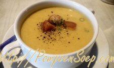 3 ingrediënten super simpel pompoensoep recept
